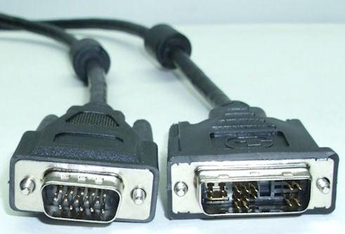 Кабел . компютърен 15M--4+8+5M VGA-DVI