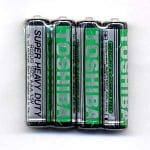 Батерия TOSHIBA R03/1,5V