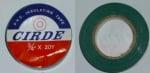 PVC лента, изолирбанд . 19X13MM-20Y - Зелена