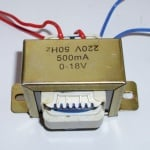 Трансформатор . - 220/18V 0,3A
