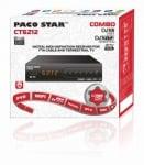 Цифров ефирен приемник /декодер/ . HD приемник за кабелна, ефирна и възможност за IP телевизия- CT6212 комбо