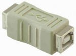 Букса . Компютърен преход - USB1 мъжко -- USB1 мъжко / USB B FEMALE-USB B FEMALE
