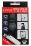 . . Универсален обектив за телефон/таблет/лаптоп LQ-001