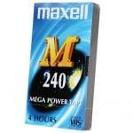 Видео касета MAXELL VHS M240